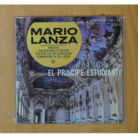 MARIO LANZA (EL PRINCIPE ESTUDIANTE) - AMADA + 3 - EP