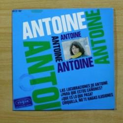 ANTOINE - LAS LUCUBRACIONES DE ANTOINE + 3 - EP