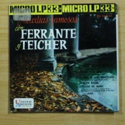 FERRANTE Y TEICHER - LAS HOJAS MUERTAS + 5 - EP
