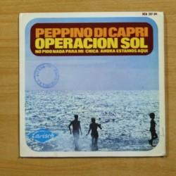 PEPPINO DI CAPRI - OPERACION SOL + 3 - EP