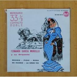 FERNANDO GARCIA MORCILLO Y SU ORQUESTA - MADRID + 3 - EP