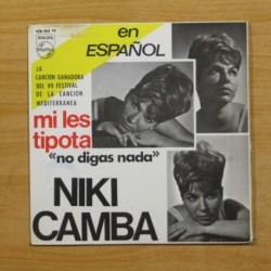 NIKI CAMBA - MI LES TIPOTA + 3 - EP