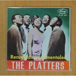 THE PLATTERS ( RECUERDOS SENTIMENTALES ) - EN UN PUEBLECITO ESPAÑOL + 3 - EP