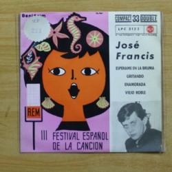 JOSE FRANCIS - ESPERAME EN LA BRUMA + 3 - EP