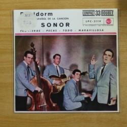 LOS SONOR - FRONTERAS + 3 - EP