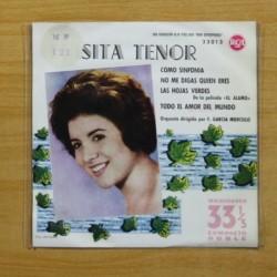 LUISITA TENOR - COMO SINFONIA + 3 - EP