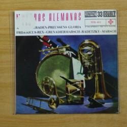 MARCHAS ALEMANSA - ALTE KAMERADEN + 3 - EP