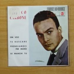 ENRICO CARBONE - SIN VOZ + 3 - EP