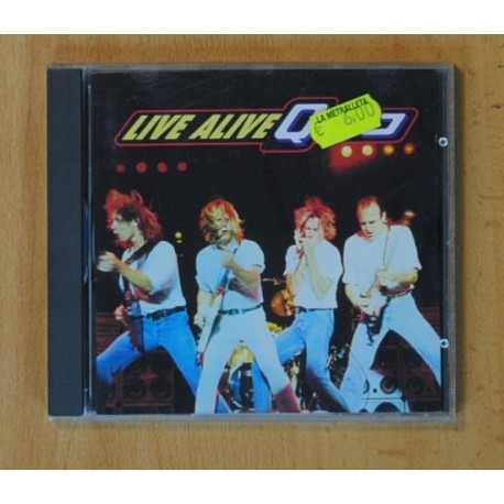 LIVE ALIVE - QUO - CD