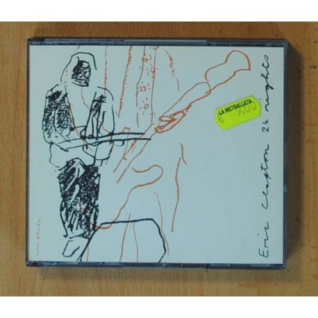ERIC CLAPTON - 24 NIGHTS - CD