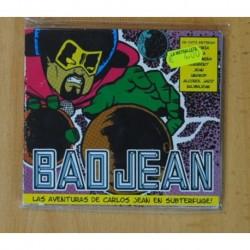CARLOS JEAN - BAD JEAN / LAS AVENTURAS DE CARLOS JEAN EN SUBTERFUGE! - CD