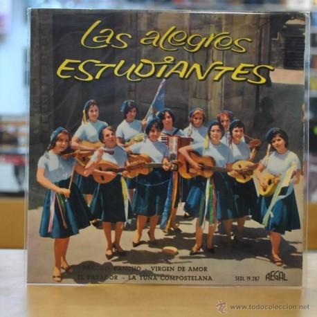 LAS ALEGRES ESTUDIANTES - PANCHO PANCHO - + 3 - EP