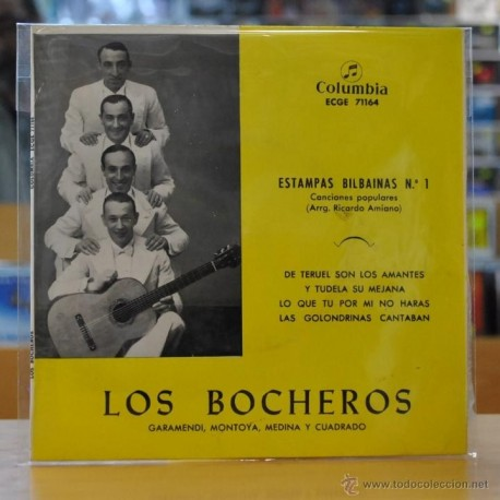 LOS BOCHEROS - ESTAMPAS BILBAINAS Nº 1 - EP