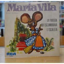 MARIA VILA - LA RATETA / QU' ESCOMBRAVA / L' ESCALETA - EP