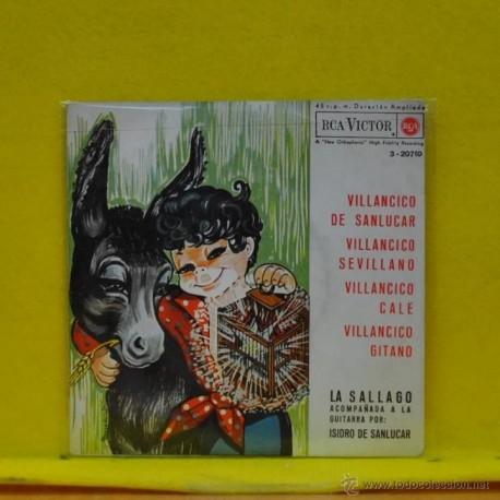 LA SALLAGO - VILLANCICO DE SANLUCAR + 3 - EP