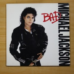 MICHAEL JACKSON - BAD - GATEFOLD - LP