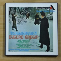 TCHAIKOVSKY - EUGENE ONEGIN - BOX 3 LP