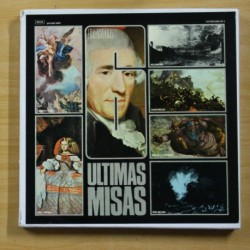 HAYDN - ULTIMAS MISAS - BOX 6 LP