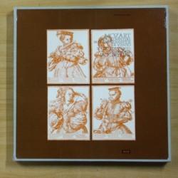 MOZART - OBRAS COMPLETAS PARA INSTRUMENTOS DE VIENTO - BOX 5 LP