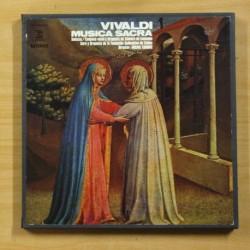 VIVALDI - MUSICA SACRA - BOX 5 LP