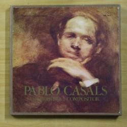 PABLO CASALS - INTERPRETE COMPOSITOR - BOX 3 LP