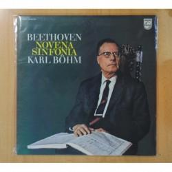KARL BÖHM - BEETHOVEN NOVENA SINFONIA - GATEFOLD - LP