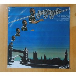 JERRY LEE LEWIS - THE SESSION RECORDED IN LONDON - LP