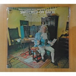 WALTER CARLOS - SWITCHED ON BACH - LP