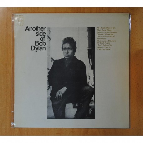 BOB DYLAN - ANOTHER SIDE OF BOB DYLAN - LP