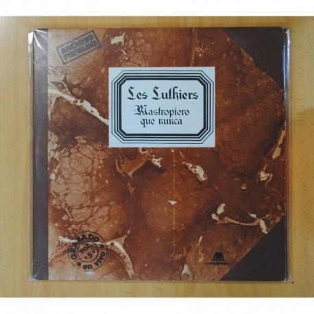 LES LUTHIERS - MASTROPIERO QUE NUNCA - LP