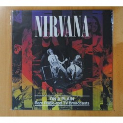 NIRVANA - ON A PLAIN RARE RADIO AND TV BROADCATS - LP