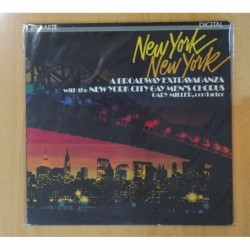 NEW YORK CITY GAY MEN´S CHORUS / GARY MILLER - NEW YORK NEW YORK - LP