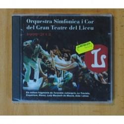 ORQUESTRA SIMFONICA I COR DEL GRAN TEATRE DEL LICEU - 1999-2002 - CD