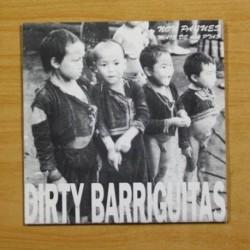 FAME NEGRA / DIRTY BARRIGUITAS - O LADO APODRECIDO / A FUME DE CAROZO + 5 - EP