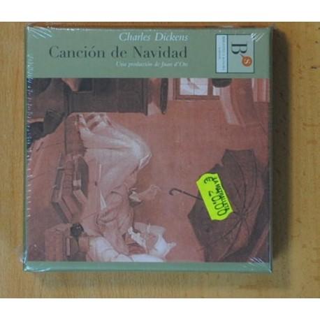 CHARLES DICKENS - CANCION DE NAVIDAD - CD