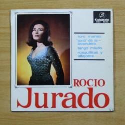 ROCIO JURADO - TORO MANSO + 3 - EP