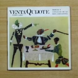 VENTA DEL QUIJOTE - PUERTO LAPICE - GATEFOLD - SINGLE