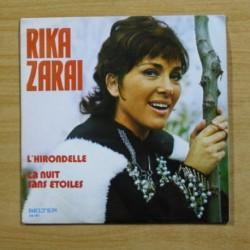 RIKA ZARAI - L´HIRONDELLE / LA NUIT SANS ETOILES - SINGLE