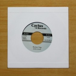 JACKIE LOWELL / BENNY JOY - ROCKET TRIP / BUNDLE OF LOVE - SINGLE