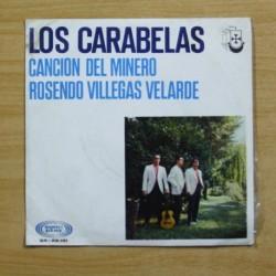 LOS CARABELAS - CANCION DEL MINERO / ROSENDO VILLEGAS VELARDE - SINGLE
