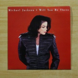 MICHAEL JACKSON - WILL YOU BE THERE - PROMO - SINGLE