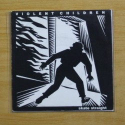 VIOLENT CHILDREN - SKATE STRAIGHT - VINILO AZUL - EP