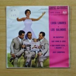 LUISA LINARES / LOS GALINDOS - MI GAZAPILLO + 3 - EP