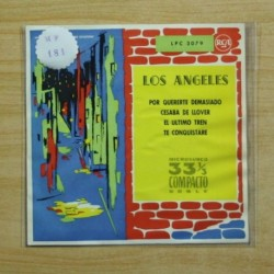 LOS ANGELES - POR QUERERTE DEMASIADO + 3 - EP