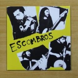 ESCOMBROS - QUE TE LLEVA + 3 - EP