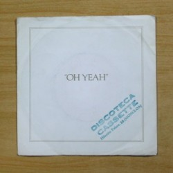 ROXY MUSIC - OH YEAH - SINGLE