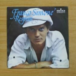 FRANCO SIMONE - RESPIRO - PROMO - SINGLE