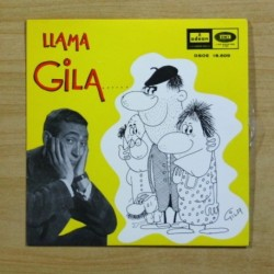 GILA - GILA LLAMA AL MAESTRO + 3 - EP