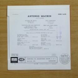 ANTONIO MACHIN - CUANDO ME BESAS + 3 - EP