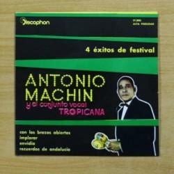 ANTONIO MACHIN - CON LOS BRAZOS ABIERTOS + 3 - EP